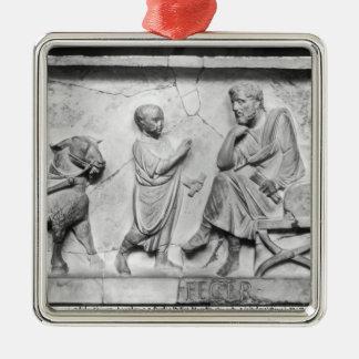 Specificera från sarkofaget av Cornelius Julgransprydnad Metall