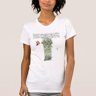 Specificera tankekvinna utslagsplats t-shirt