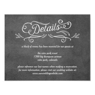 Specificerar redigerbart färgbröllop för 10,8 x 14 cm inbjudningskort
