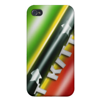 Speckfodral för St. Kitts Iphone 4 iPhone 4 Skydd