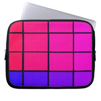 Spectrum färgrika 12 Zipper det mjuka bärbar Laptop Sleeve