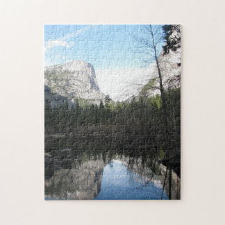 Spegel sjö - Yosemite Pussel