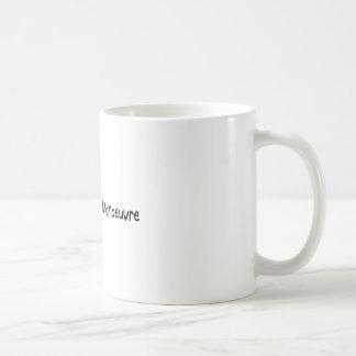 Speglar signalerar, manövrerar kaffe kopp