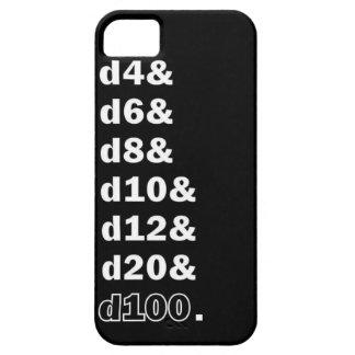 Spela tärning d20 iPhone 5 cases