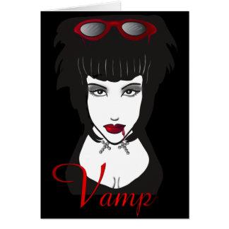Spela vamp II Hälsningskort