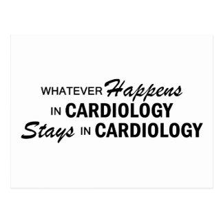 Spelar ingen roll händer - Cardiology Vykort