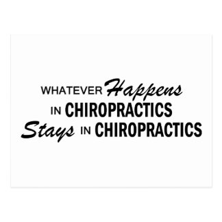 Spelar ingen roll händer - Chiropractics Vykort