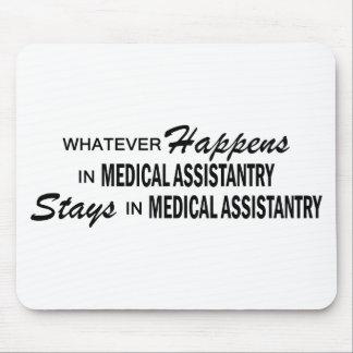 Spelar ingen roll händer - medicinska Assistantry Musmatta