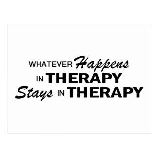 Spelar ingen roll händer - terapi vykort