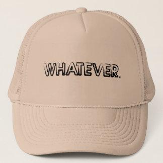 Spelar ingen roll hatt truckerkeps