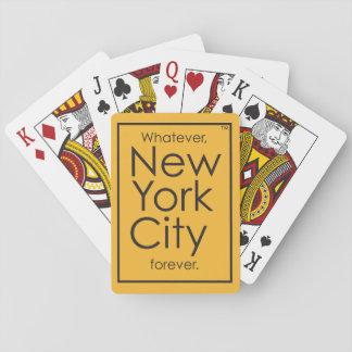 Spelar ingen roll New York City för alltid Spelkort