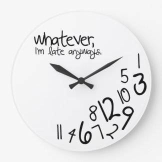 spelar ingen roll stor klocka