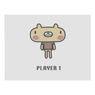 Spelare 1 vykort