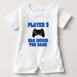 Spelare 3 har gått med den modiga roliga t shirt