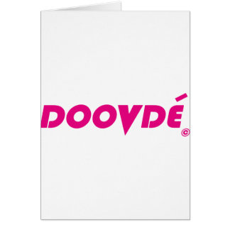 Spelare Fonejacker för DOOVDE DVD Hälsningskort