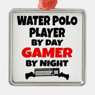 Spelare för GamervattenPolo Julgransprydnad Metall