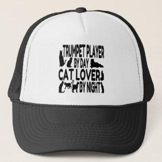 Spelare för kattälskaretrumpet truckerkeps