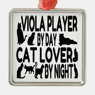 Spelare för kattälskareViola Julgransprydnad Metall