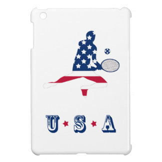 Spelare för USA tennisamerikan iPad Mini Fodral