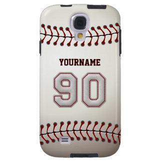 Spelare numrerar 90 - kall baseball syr Look Galaxy S4 Fodral