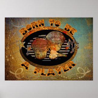 Spelarebongoen trummar ID281 Poster
