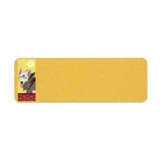 Spencervargetiketter Returadress Etikett