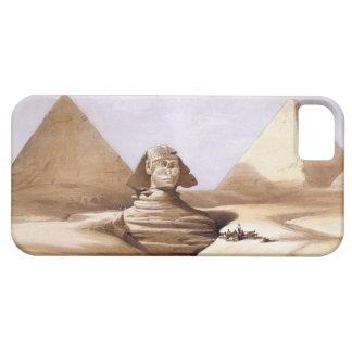 Sphinx framme av pyramiderna iPhone 5 Case-Mate skal