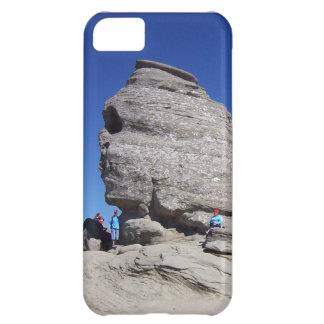 Sphinx från Bucegi Mts, kall megalith för rumänien iPhone 5C Fodral