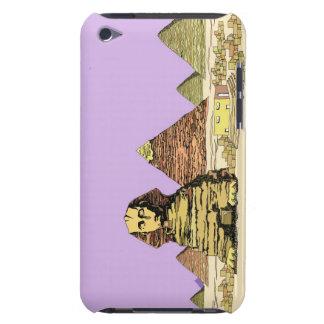 Sphinx och en pyramid Case-Mate iPod touch case