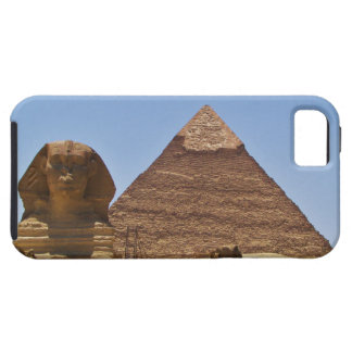 Sphinx och pyramid iPhone 5 fodral