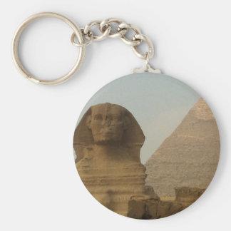 Sphinx Rund Nyckelring