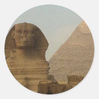 Sphinx Runt Klistermärke