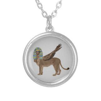 Sphinx Silverpläterat Halsband