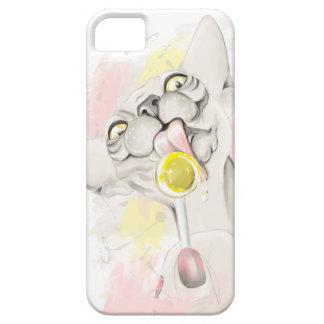 Sphinx som slickar candy.en iPhone 5 Case-Mate fodral