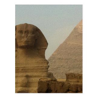 Sphinx Vykort