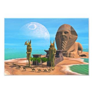 Sphinxen Fototryck
