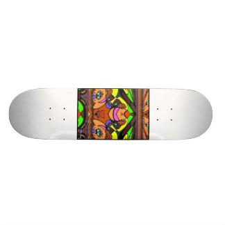 Sphinxen Old School Skateboard Bräda 18 Cm