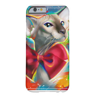 Sphynx katt! Peterbald Barely There iPhone 6 Skal