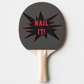SPIKA DET! Den roliga fantastiska pingen Pong Pingisracket