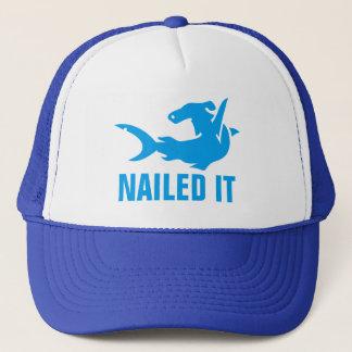 Spikat det bulta den Head hajen Truckerkeps