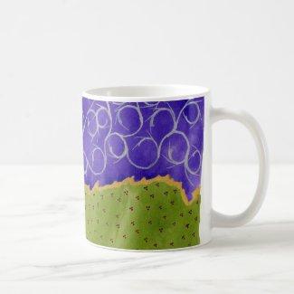 Spiky medieval night kaffe muggar