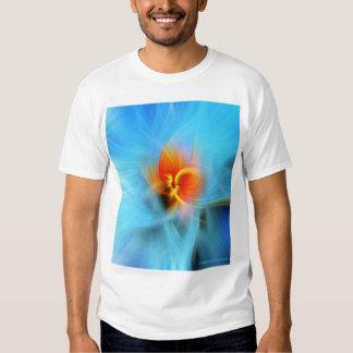 SpinArt för vårträdknopp T-tröja Tröjor