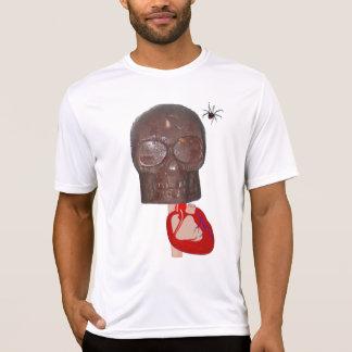 Spindel för hjärta n för har för chokladskalle 2! t shirts