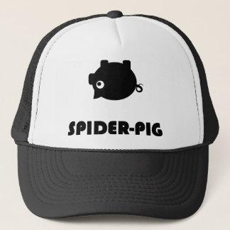 Spindel-Grisen tänder T-tröja Truckerkeps