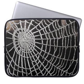 Spindel webben laptop fodral