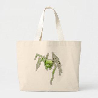Spindelfotgängaredesign Jumbo Tygkasse
