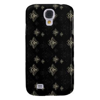 SpindelgiftSci-Fi 1 ljus mörk Galaxy S4 Fodral
