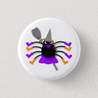 Spindelhäxa Mini Knapp Rund 3.2 Cm