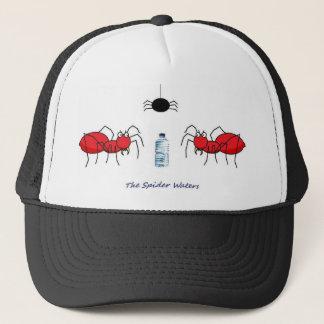 Spindeln bevattnar den plötsliga tillbaka hatten truckerkeps