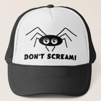 Spindeln - skrika inte! truckerkeps